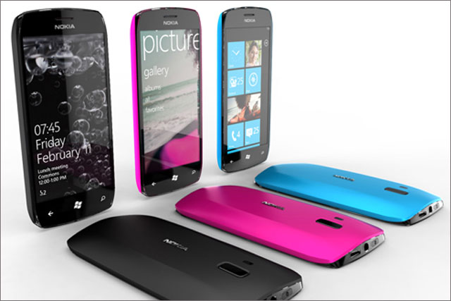 Nokia: set to launch £80m re-positioning ads
