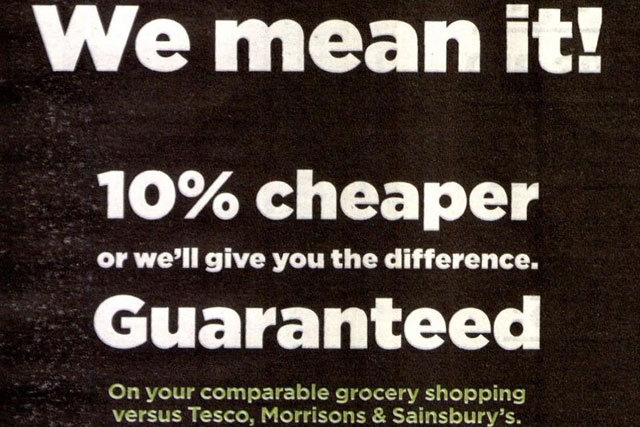 Asda: disputed price-guarantee ad approved by the ASA