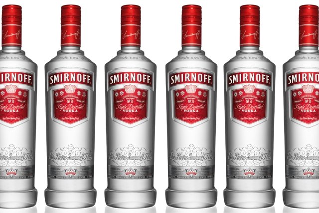 Smirnoff: backing Kiss cover