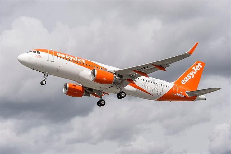 EasyJet restructures marketing team