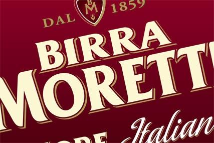 Birra Moretti: promotes Italian heritage