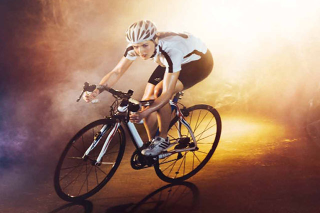 EDF: using cyclist Victoria Pendleton for ad campaign