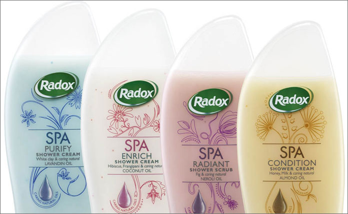 Radox Spa: new range from Unilever