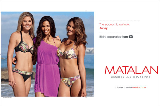 Matalan swimwear ad: complaints overruled by ASA