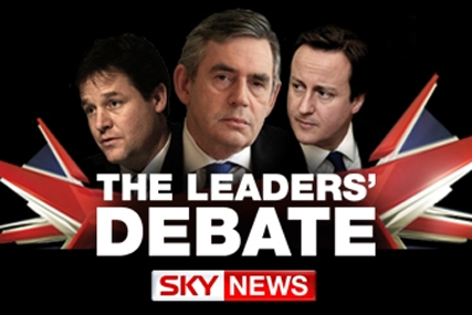 Leaders' Debate attracts 4.1m across Sky and BBC