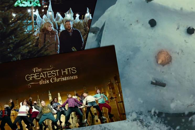 The top three Christmas ads as voted by NetMums