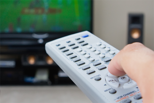 TV viewing: a record number of TV ads were watched in the first half of 2012