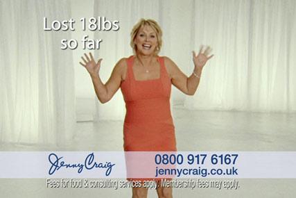 Jenny Craig: Cheryl Baker has fronted its UK advertising