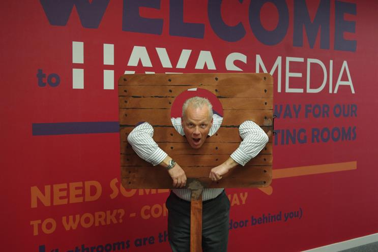 Marc Mendoza: standing in the stocks for charity