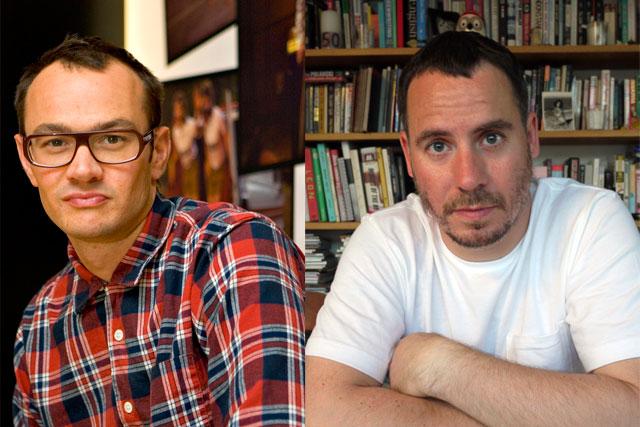 Yan Elliott (l) and Luke Williamson: launch 'creative studio' with Sam Brookes