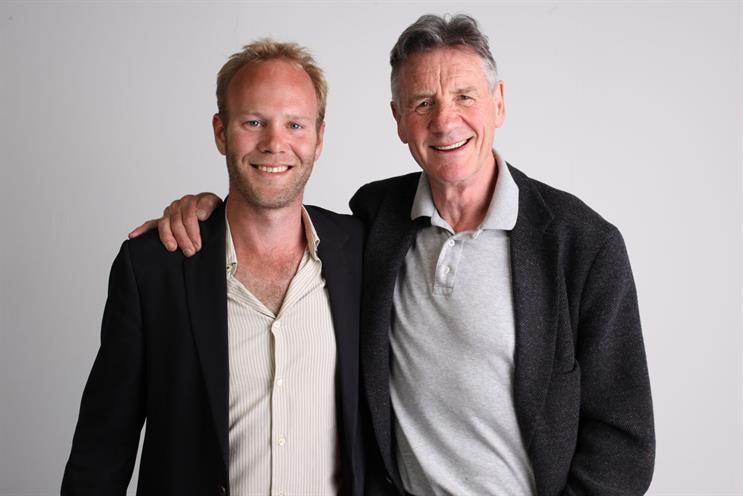Peter Meakin and Michael Palin