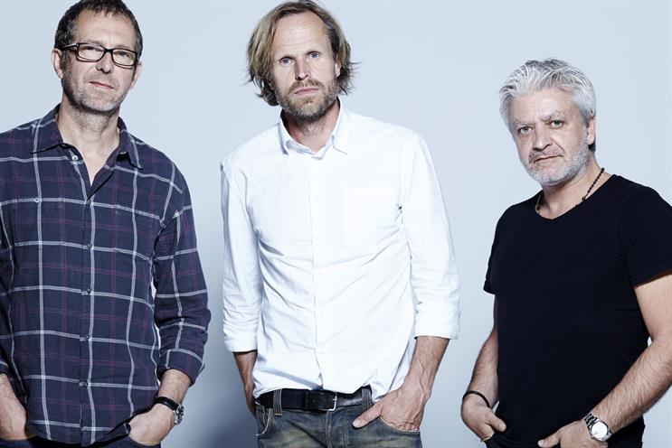 BETC Paris executives: Rémi Babinet, Filip Nilsson and Stephane Xiberras