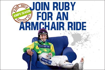Racing UK: fits campaign around jockey Ruby Walsh's injury