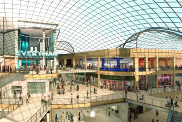 Trinity Leeds: an impression of the retail complex scheduled to open next year