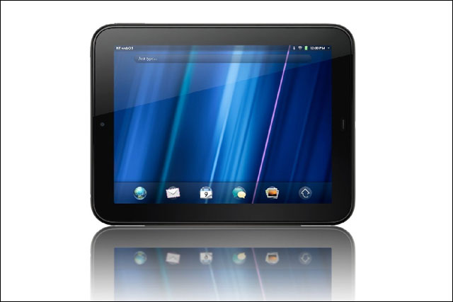 HP TouchPad: being sold on eBay at a quarter of the original price