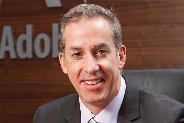 Mark Phibbs: vice-president of marketing for EMEA at Adobe