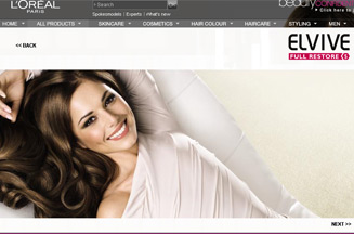 L'Oreal directs viewers to Cheryl Cole TV ads with press teasers