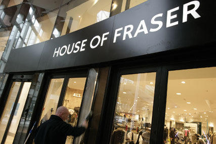 House of Fraser: reports strong growth in core earnings