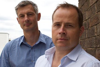 Oliver Stroh and Damian Winstanley: OMD international managing directors