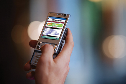 Mobile phone: now an almost indispensable item for most Britons