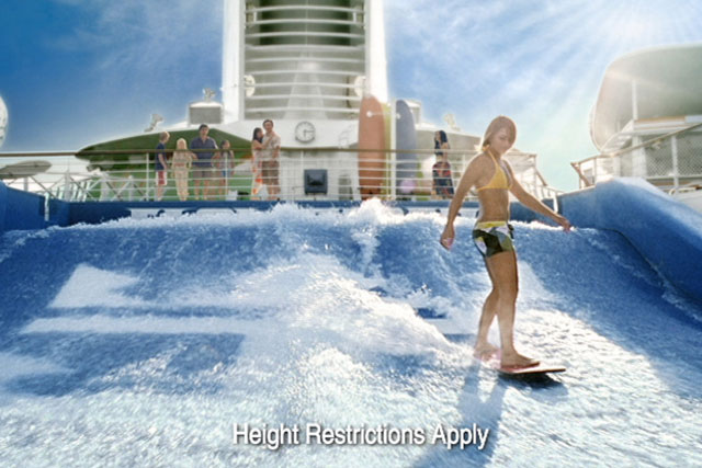 Royal Caribbean is talking to agencies