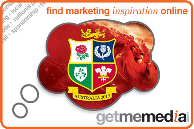 Idea of the week: Sponsor the British Lions tour this summer