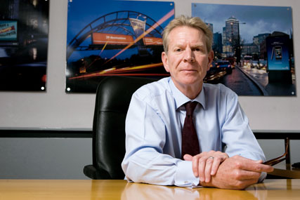 Male: chief executive of JCDecaux UK and Northern Europe