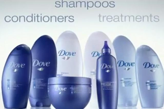 Dove haircare: one of two Unilever global digital accounts won by Razorfish