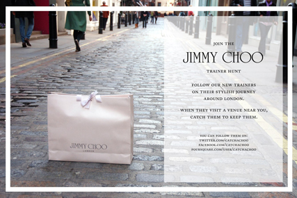 Jimmy Choo: Foursquare facilitates trainer hunt