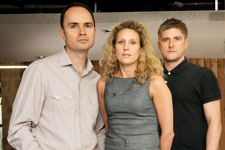 Nairn, Calcraft and Brooke-Taylor (l-r): the former MCBD and Dare trio are reuniting