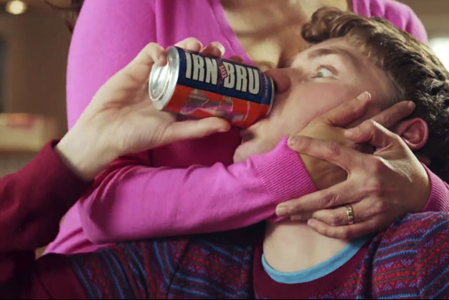 Irn-Bru: ads themed around awkward situations