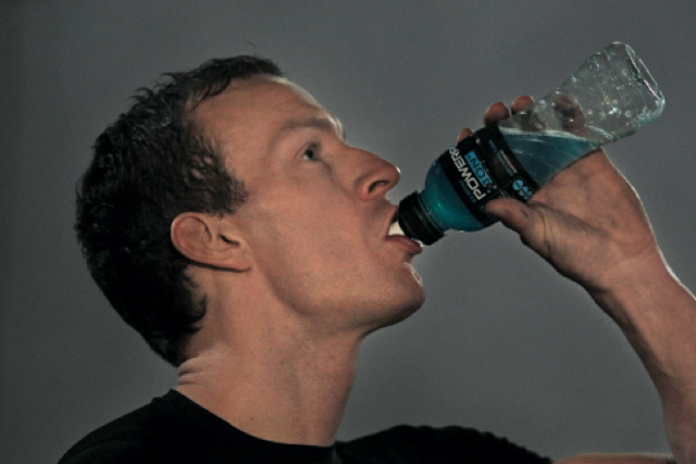 Powerade sales rose only 4% year on year (June 2012, Symphony IRI).