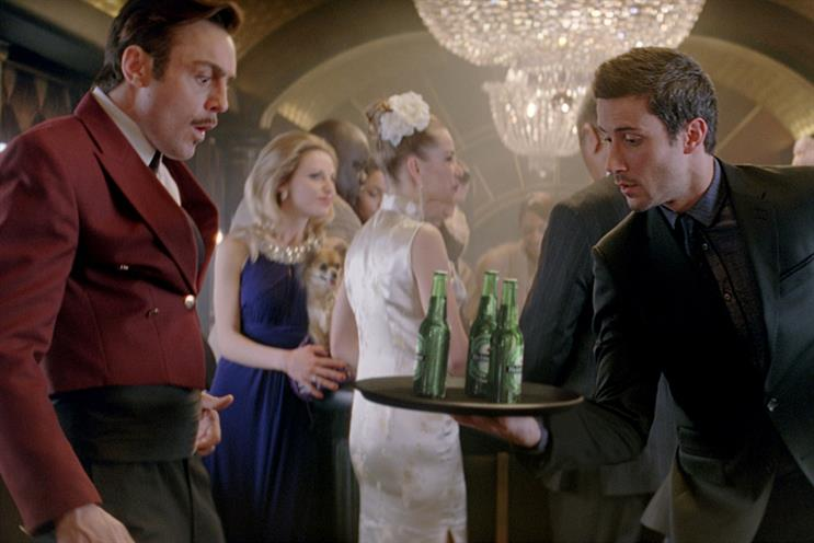 Heineken: recent digital work includes 'crack the code', which promotes its tie-up with Skyfall