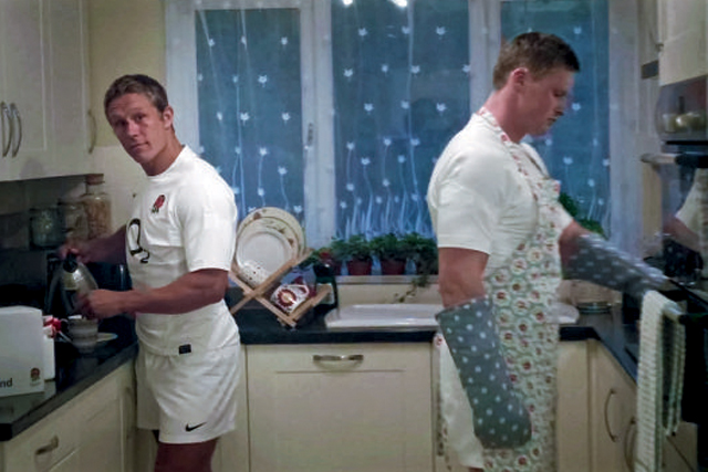 O2: TV ad promoting its sponsorship of the England team