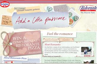 Dr Oetker's pizza brand Ristorante launches sampling campaign