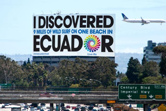 Recent Ministry of Tourism Ecuador work