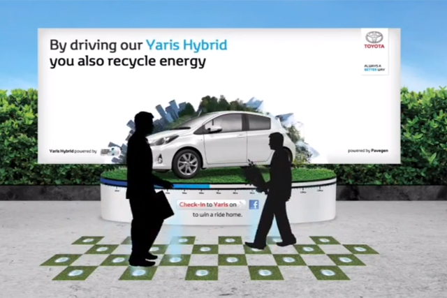 Toyota Yaris Hybrid: winner of Art of Outdoor first prize