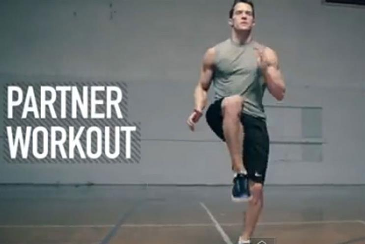 Nike + Kinect Training: work earns AKQA London nomination in Innovation Lions category