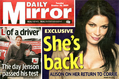 Mirror...appoints Arena BLM to handle media