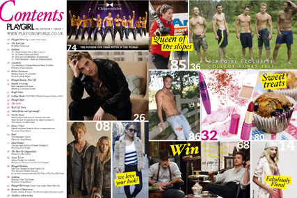 Playgirl UK…no full-on nudity