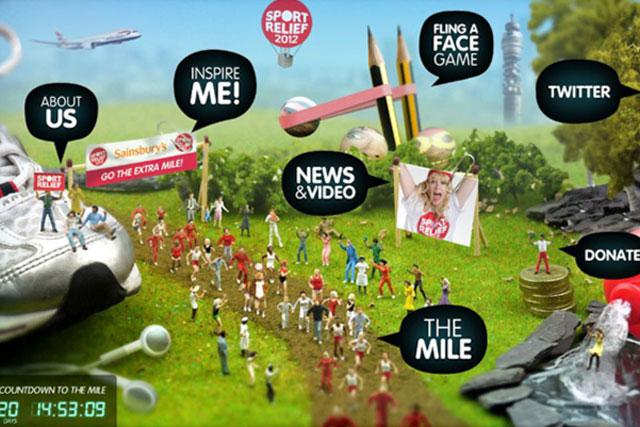 Sport Relief: mobile app is designed to promote March flagship event