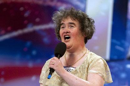 Susan Boyle...Britain's Got Talent sensation