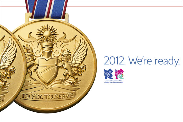 British Airways: rolls out Olympic campaign
