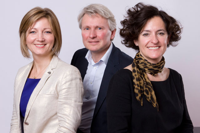 OgilvyOne management team (l-r): Coombs, Williams-Thomas and King
