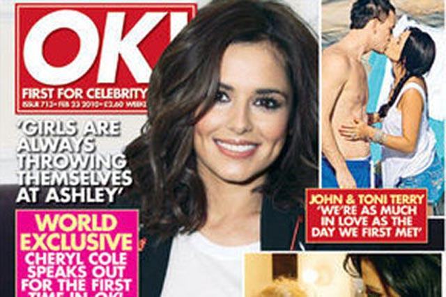 OK!: cover price drops to £1.49 this month