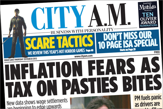 CityAM: prepares to boost production by 30%