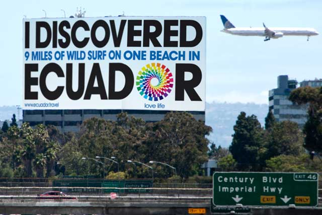 Recent Leagas Delaney work - Ministry of Tourism of Ecuador