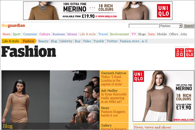 The Guardian: unveils revamped fashion site