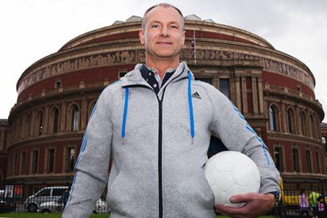 Robert Ashcroft: winner of adidas's 'name the ball' competition