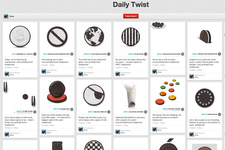 Oreo: daily twist work won the Cyber Grand Prix